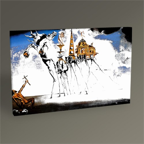 Tablo 360 Salvador Dali The Temptation Of St. Anthony 45X30