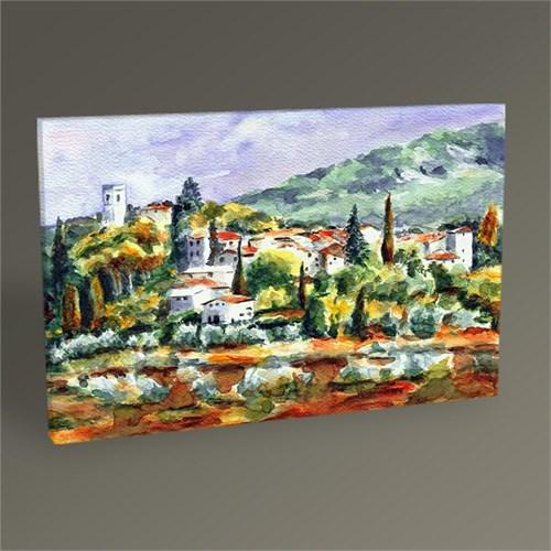 Tablo 360 Köy Manzarası Tablo 45X30