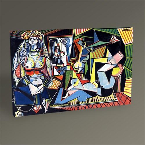 Tablo 360 Pablo Picasso Cezayirli Kadınlar Tablo 45X30