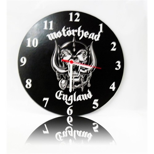 Köstebek Motörhead Ahşap Duvar Saati