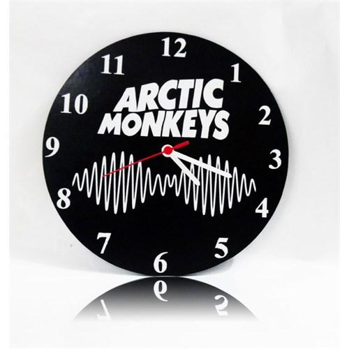 Köstebek Arctic Monkeys Logo Duvar Saati Ahşap Duvar Saati