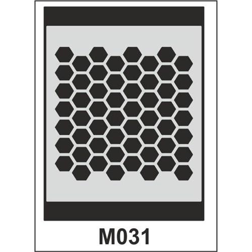 Atadan Hobi Sanatsal -Stencil M-Serisi (15 X 20 Cm)