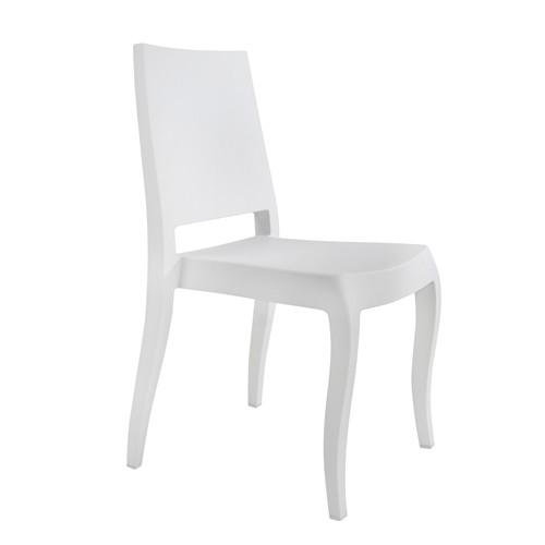 Papatya Classx Sandalye Mat Beyaz