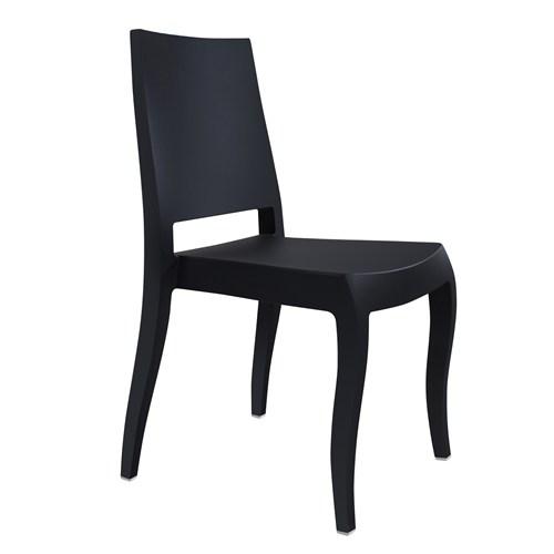 Papatya Classx Sandalye Mat Siyah