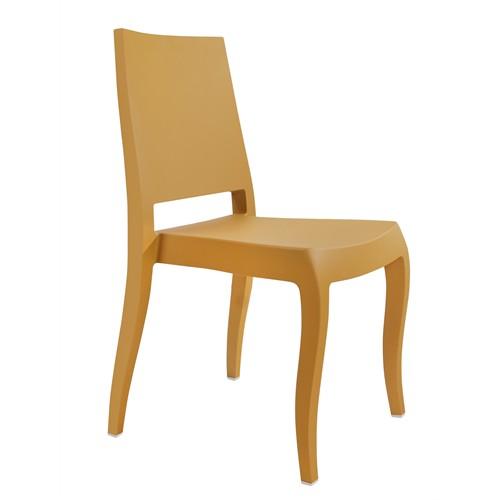Papatya Classx Sandalye Mat Sarı