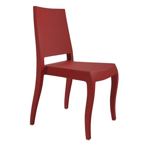Papatya Classx Sandalye Mat Kırmızı