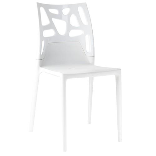 Papatya Ego Rock Sandalye Beyaz