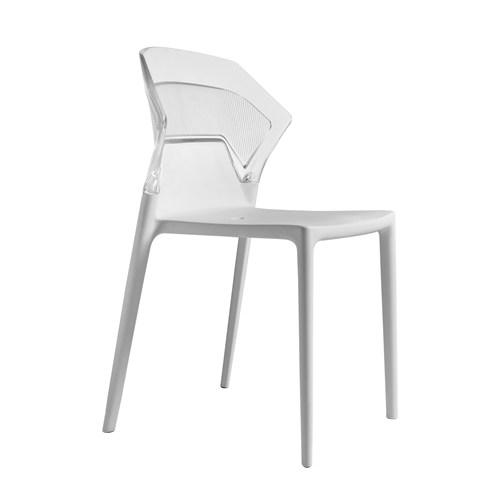 Papatya Ego Sandalye Beyaz