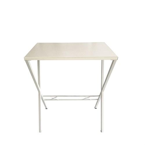 Büroday Tavolino Mutfak Masası 40 X 60 Cm Beyaz