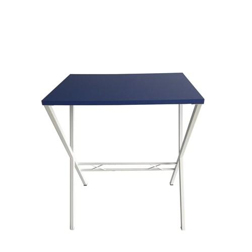 Büroday Tavolino Mutfak Masası 40 X 60 Cm Mavi