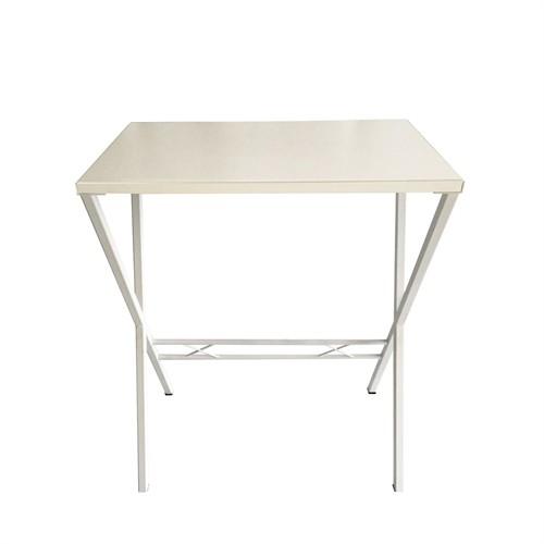 Büroday Tavolino Mutfak Masası 45 X 75 Cm Beyaz