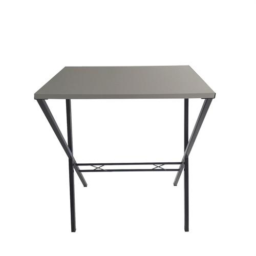Büroday Tavolino Mutfak Masası 45 X 75 Cm Gri