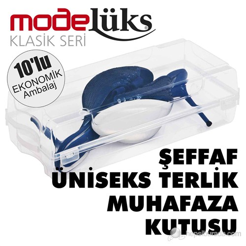 Modelüx Klasik Terlik Kutusu 10 lu Paket