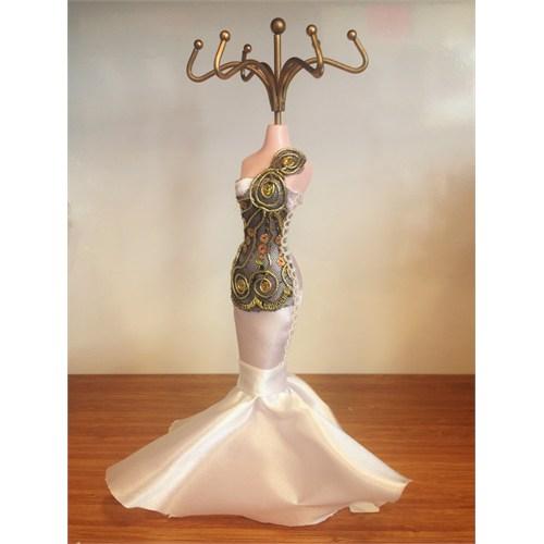 Aydindecor Kadın Figürlü Yüzük Küpe Dekoru