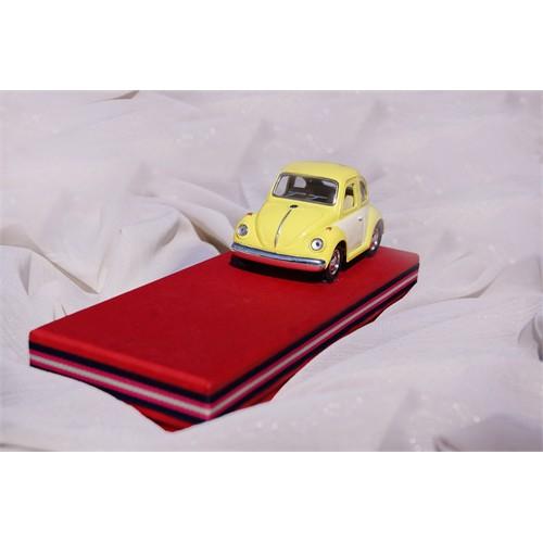 Mira Sarı Vos Vos Arabalı Tasarım Kutu 22*8 Cm