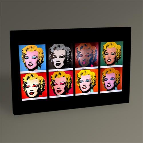 Tablo 360 Andy Warhol Marilyn Monroe Pop Arttablo 45X30
