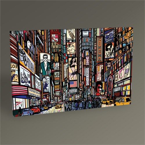 Tablo 360 New York City Tablo 45X30