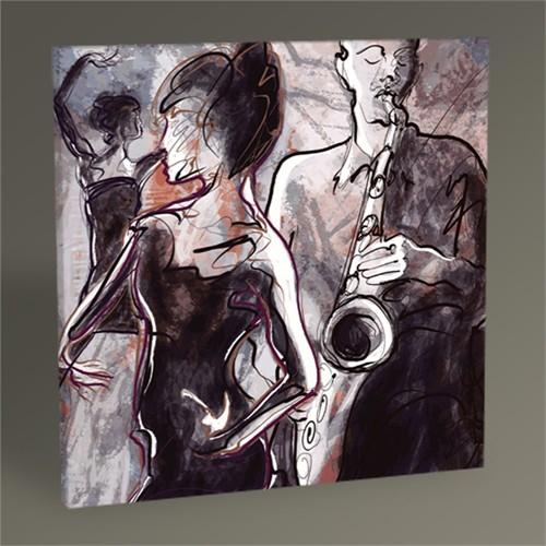 Tablo 360 Jazz Grubu Ve Dansçılar Tablo 30X30