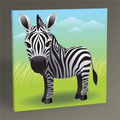 Tablo 360 Yavru Zebra Tablo 100X100