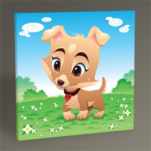 Tablo 360 Baby Dog Tablo 30X30