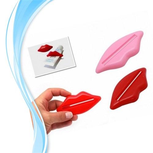 Dudak Tasarımlı Diş Macunu Sıkacağı ( 2 Li )