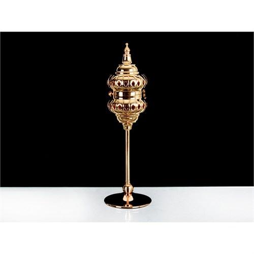 Lucky Art Gold Kapaklı Tilaytlık - 34 Cm