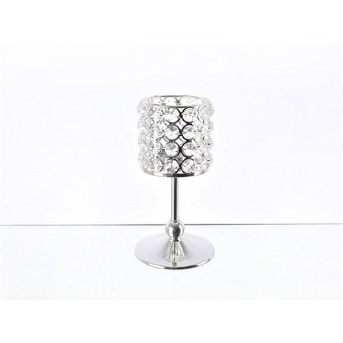 Lucky Art Gümüş Kristalli Ayaklı Tilaytlık - Me 074