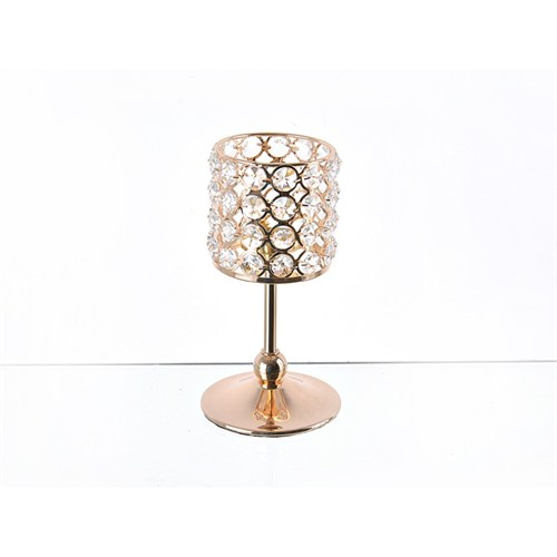 Lucky Art Gold Kristalli Ayaklı Tilaytlık - Me043