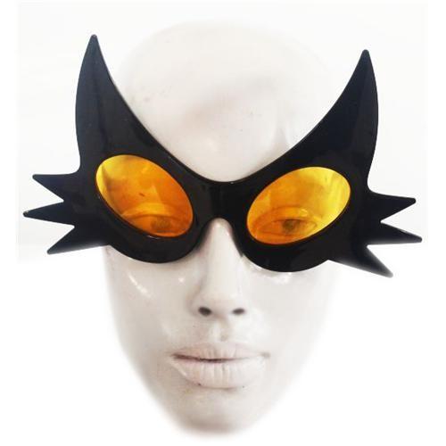 Partisepeti Kedi Siyah Gözlük