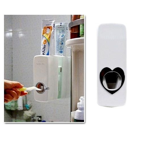 Otomatik Diş Macunu Sıkacağı ve 5 Adet Diş Fırçalığı