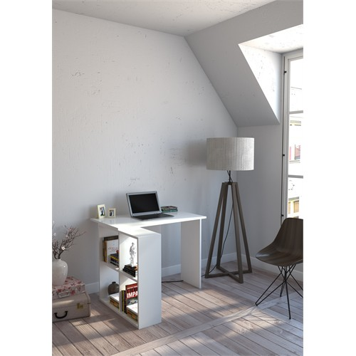 Decormet Square Çalışma Masası Beyaz