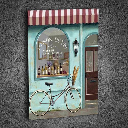 Artmoda - Kabartmalı Bisiklet Tablo