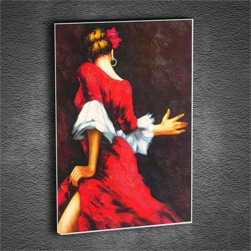 Artmoda - Kabartmalı Dansçı Kadın Tablo