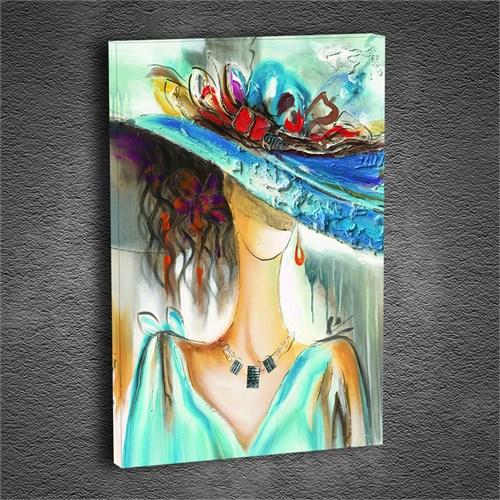 Artmoda - Kabartmalı Madam Tablo