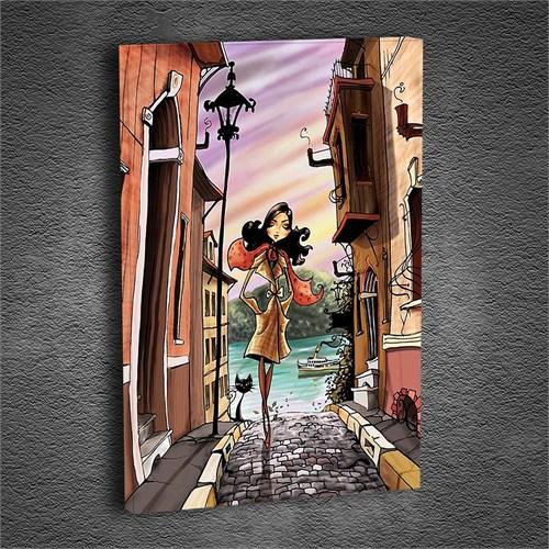 Artmoda - Kabartmalı Pretty Woman Tablo