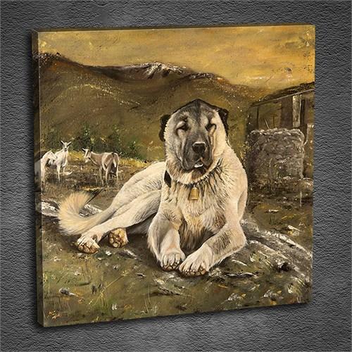Artmoda - Kabartmalı Sheepdog Tablo