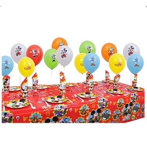 Partişöleni Mickey Mouse Doğum Günü Parti Seti 24 Kişilik
