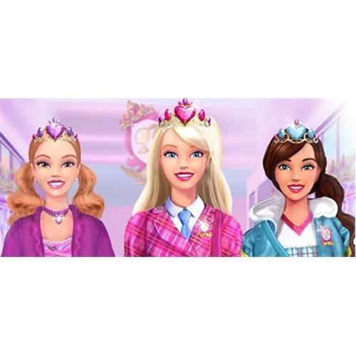 Partişöleni Barbie Doğum Günü Parti Seti 16 Kişilik