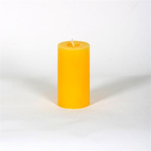Sarı 5*10 Cm Kokusuz Silindir Mum