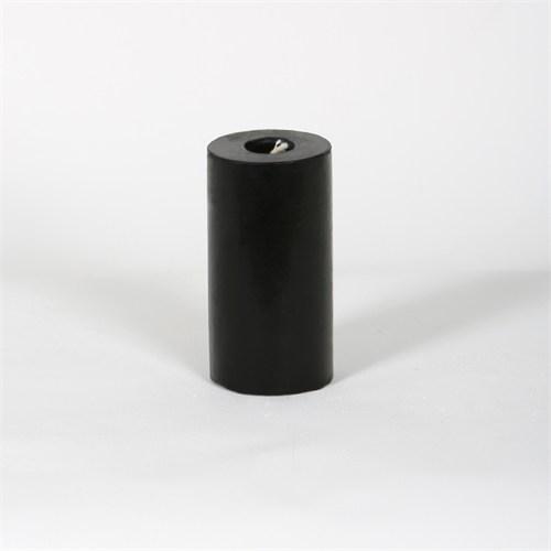 Siyah 5*10 Cm Hot Chocolate Kokulu Silindir Mum