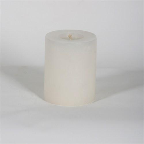 Beyaz 8*10 Cm Yasemin Kokulu Silindir Mum