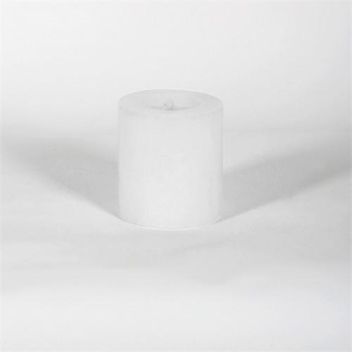 Beyaz 6.5*7 Cm Kokusuz Silindir Mum