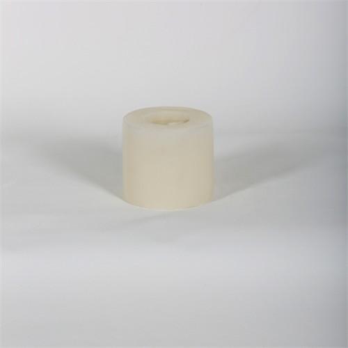 Beyaz 8*7 Cm Yasemin Kokulu Silindir Mum
