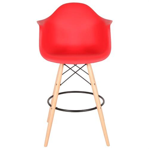 Altıncı Cadde Nancy Kırmızı Sandalye