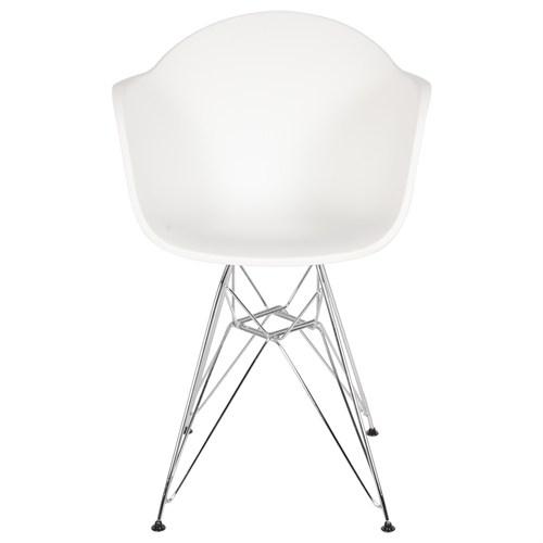 Altıncı Cadde Star Beyaz Sandalye