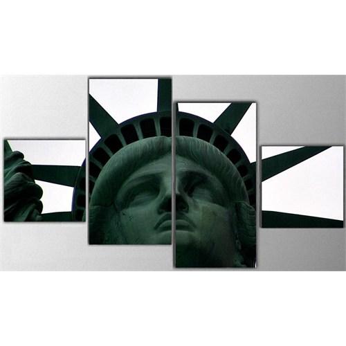Tictac 4 Parça Kanvas Tablo - Özgürlük Anıtı