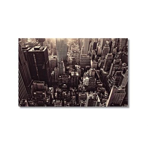 Tictac New York 4 Kanvas Tablo - 50X75 Cm