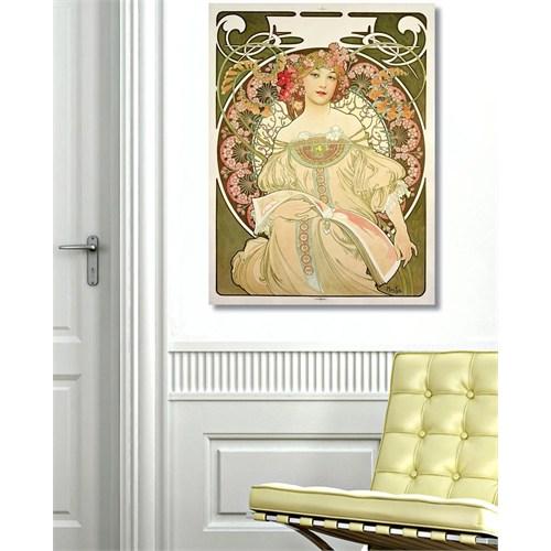 Tictac Vintage 7 Kanvas Tablo - 60X90 Cm