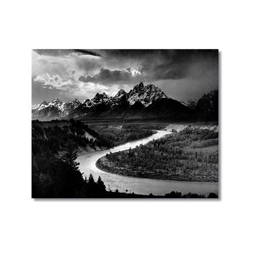 Tictac Sakin Nehir Kanvas Tablo - 50X75 Cm