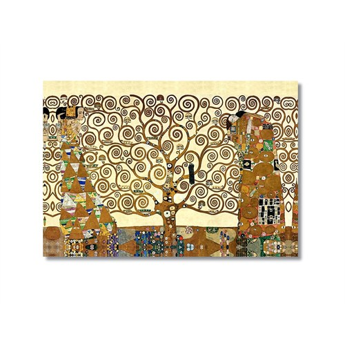 Tictac Hayat Ağacı Kanvas Tablo - 60X90 Cm